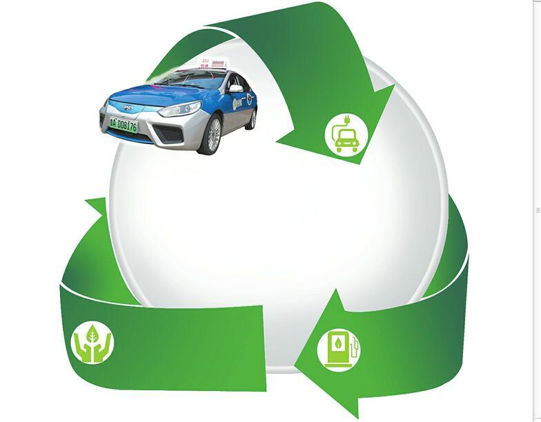济南首批新能源纯电动出租车上路:目前仅两辆 起步价12元