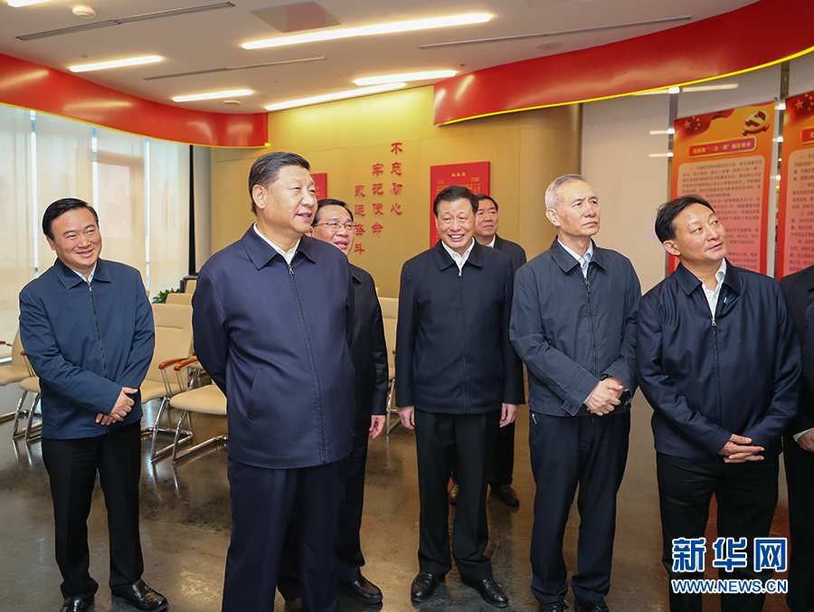 习近平在上海考察