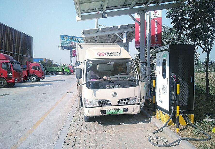 济南有个司机之家 货运至此既能休息就餐又能维护车辆