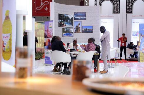 塞内加尔国家馆—— 花生系列产品吸引眼球