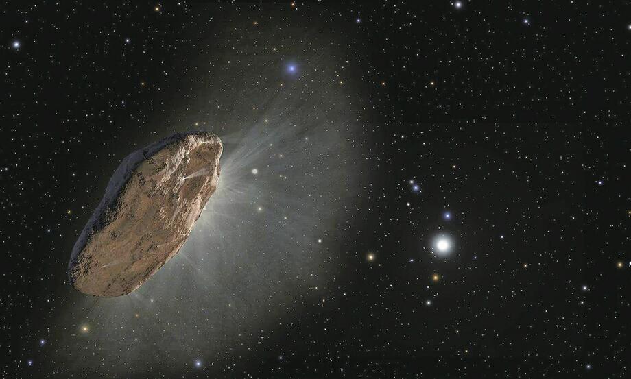 """""""星际访客""""可能是外星探测器?哈佛一项研究引发争议"""