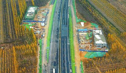 G220长清绕城段月底将通车 长清黄河大桥有望