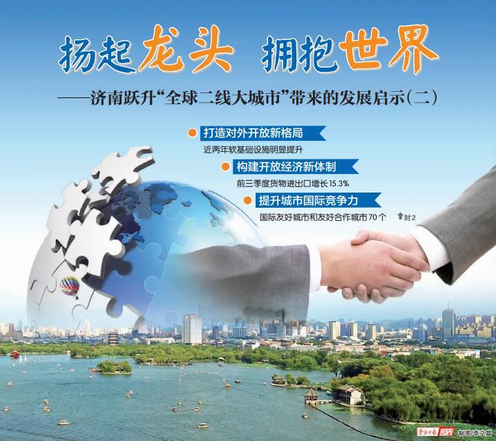 """传承开放基因 让济南拥抱世界——跃升""""全球二线大城市""""带来的发展启示(二)"""