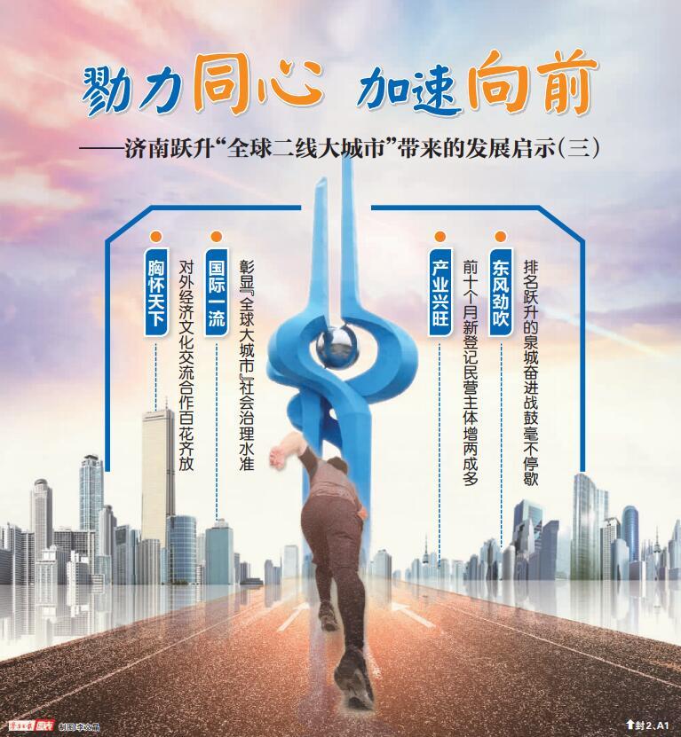 """乘风借力,济南迈向国际化新高度——跃升""""全球二线大城市""""带来的发展启示(三)"""