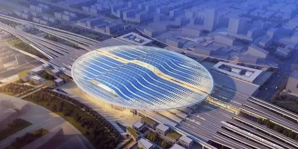 京雄城际铁路雄安站开工建设