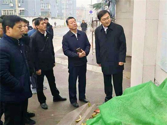 杨峰同志到历下区督导检查深化全国文明城市创建工作