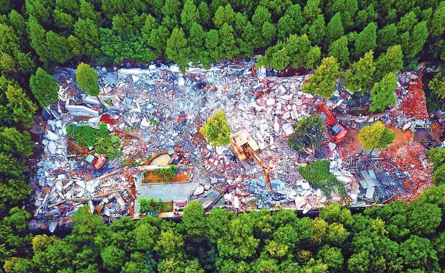 赞!济南两年拆出305个泉城广场 拆违拆临硕果累累