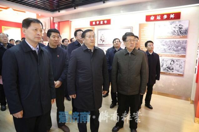 王忠林带队赴临沂开展扶贫协作