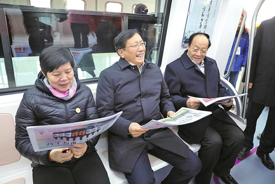 千年古城百年跨越三个时代 济南轨道交通1号线建成通车