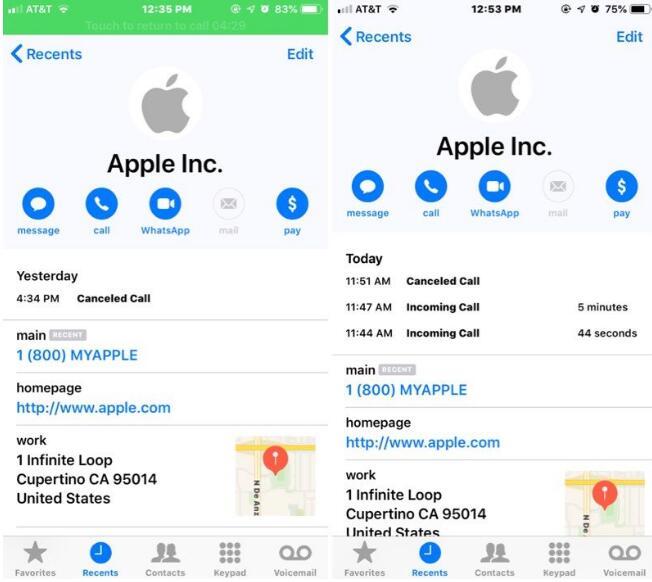 还有这种操作?钓鱼诈骗冒充苹果官方来电 会套取用户的银行卡信息