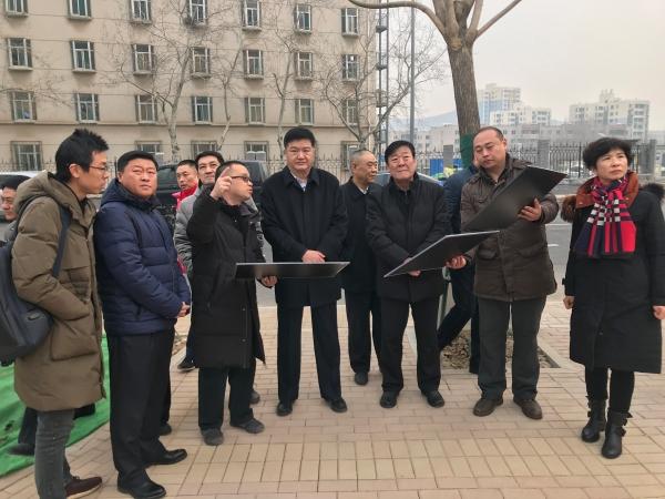 曹辛同志调研重点道路建设工作