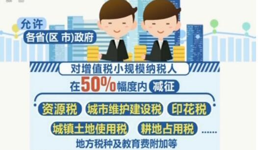 普惠小微企业 减税再出新举措
