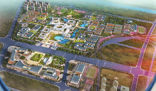 山东第一医科大学初露真容 首批建筑将于6月底竣工