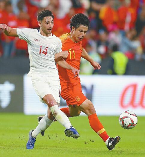 出线了!国足3:0菲律宾 武磊梅开二度 于大宝锦上添花