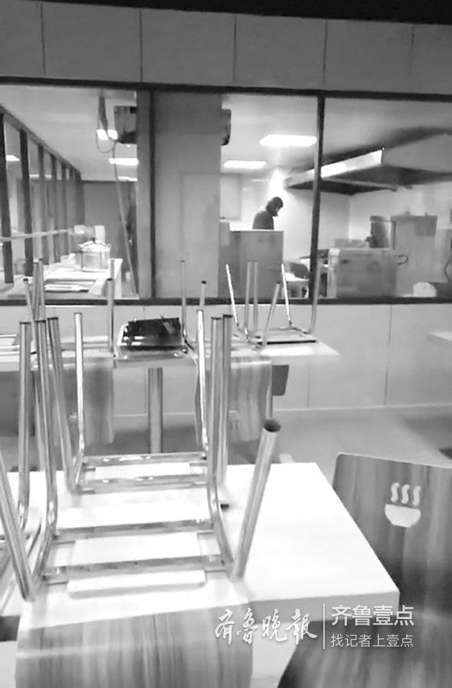 济南万科城三期水泵房被改成食堂 物业称产权不属于业主