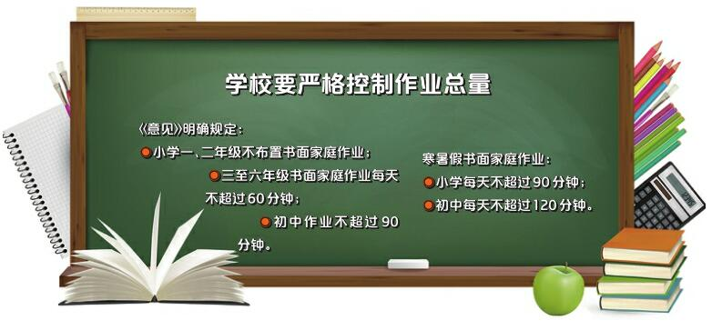 济南市教育局发文规范中小学作业 家长签字这件事儿可以免了