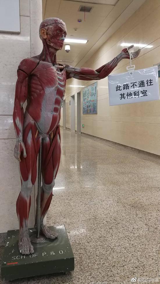 指路牌成网红!人体模型指路牌使用半年多效果显著