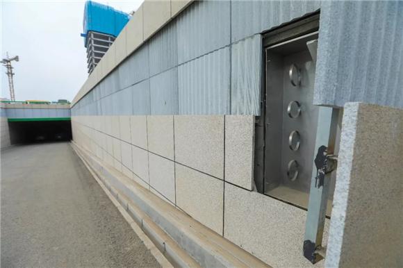 CBD地下环路匝道装修后首次亮相!一探初容