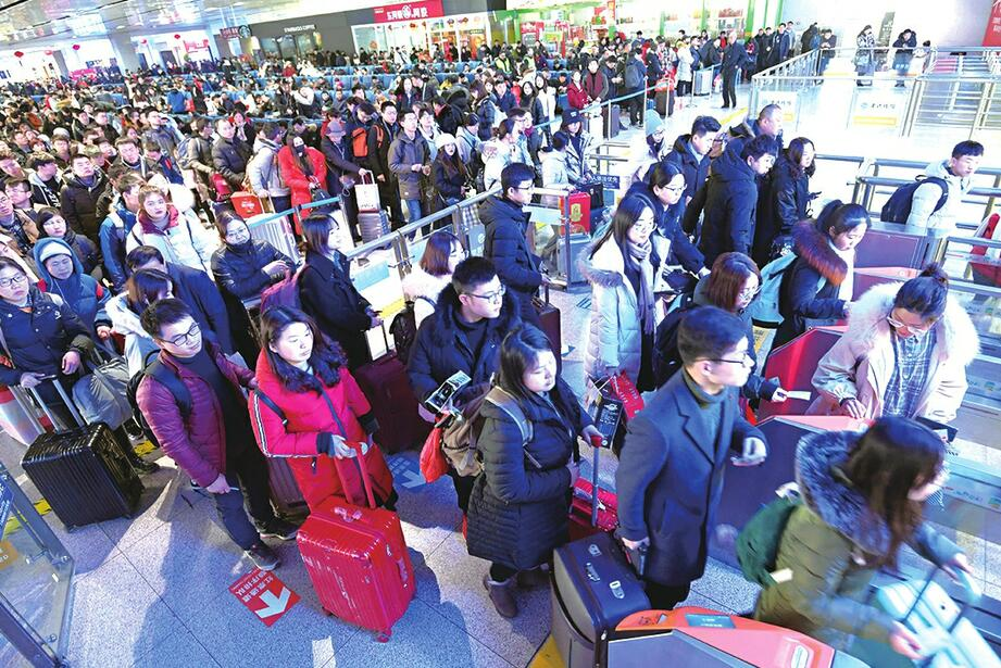 6.5万人次!济南火车站昨迎客流高峰