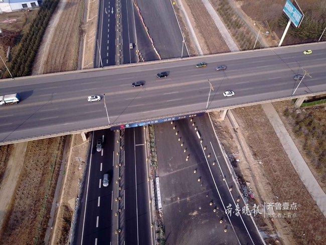 济青高速改扩建工程进展:还有四个月就通车!