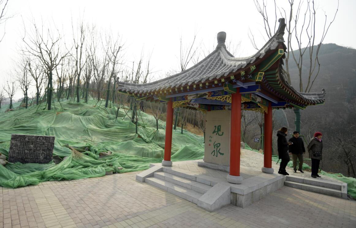 砚泉广场改造提升 成市民休闲好去处