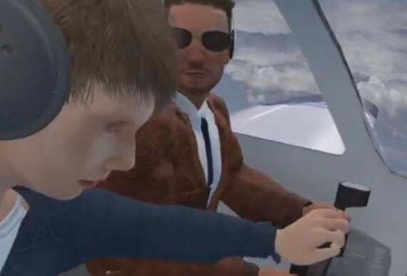 惊魂一幕!16岁孩子夺飞机操纵杆险酿事故 被后排女乘客勒住脖子制服