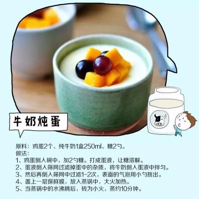 8种牛奶新吃法,3种花样新吃法,刷爆你的朋友圈,速收!
