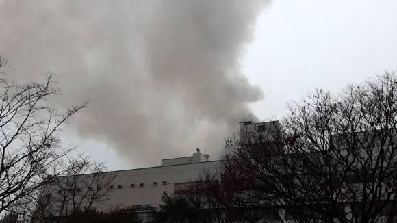 韩国一桑拿房起火 目击者:男浴池入口擦皮鞋的地方最先着火