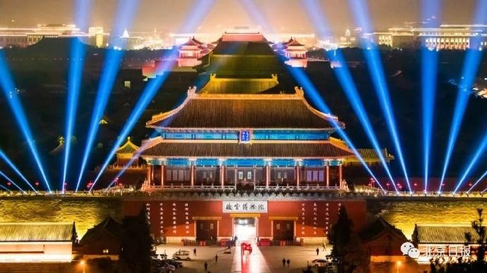 故宫首次办灯会美哭了