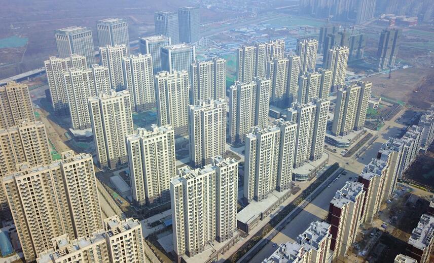 濟南市最大城中村改造項目華山片