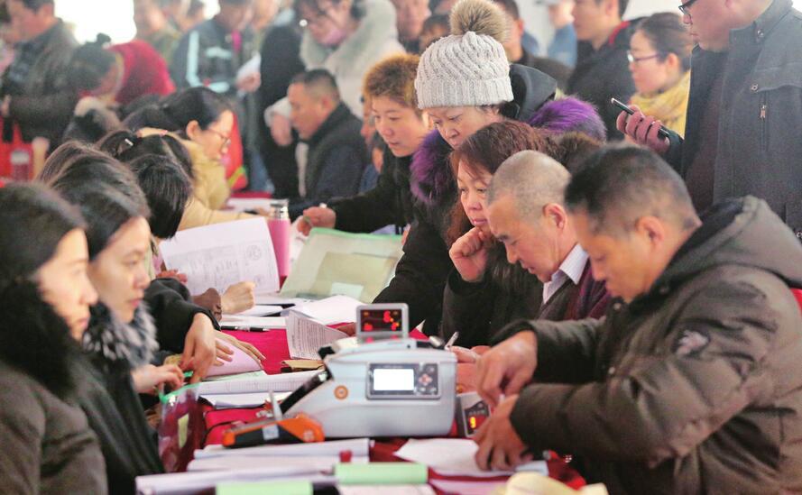 濟南市最大城中村改造項目華山片區安置居民喜遷新居