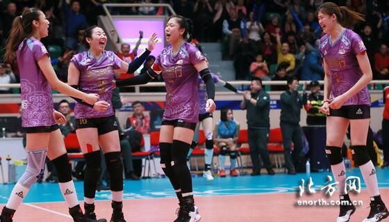天津女排挺进决赛 2018-2019女排超级联赛已近尾声
