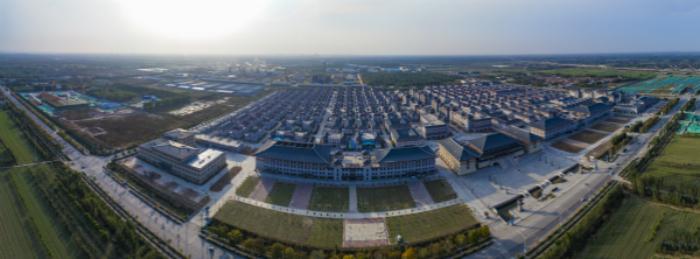 济南新材料产业园鸟瞰图