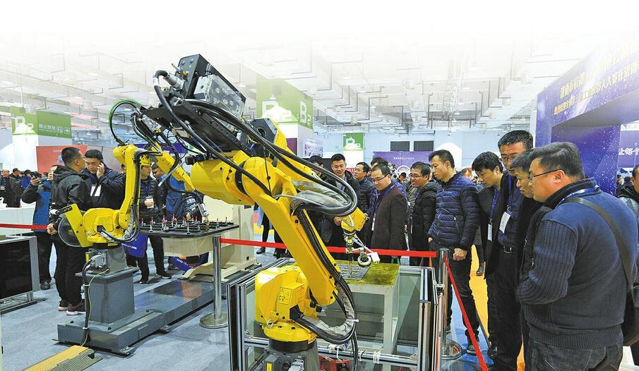 2022年产业规模将破200亿元 济南机器人产业后劲十足