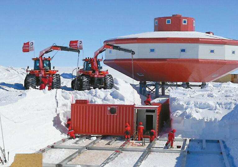 5大创新!我国首个南极雪下建筑建成