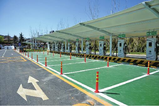 济南最大年夜地下停车场下月启用