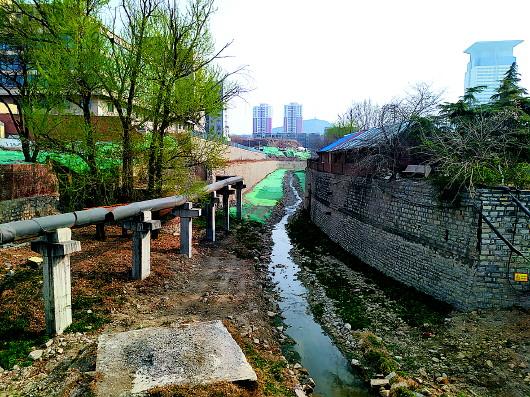 全福河河道改造工程开始房屋征收 CBD西大门将现一河一路景观