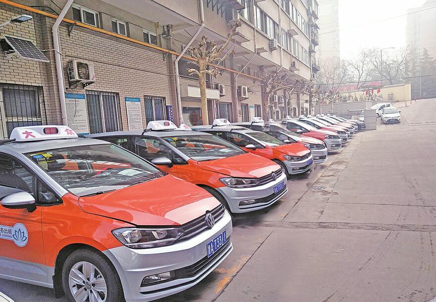 多家公司欲引进高档车型 济南出租车趋向环保与高端