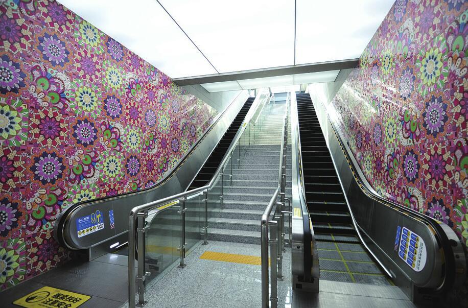 济南轨道交通1号线今天商业运营 11个车站各具特色