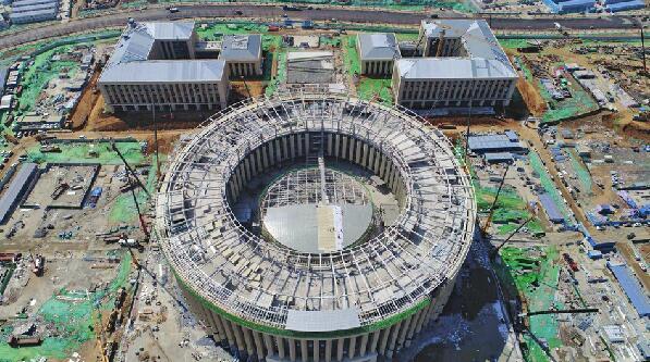 仅108天!济南超算中心项目主楼完工