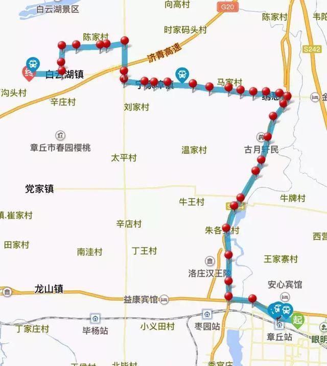 章丘高鐵啟用 公交線路看這里!
