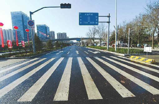 大发排列3齐鲁大道双断头路打通 预计本月底前恢复通车