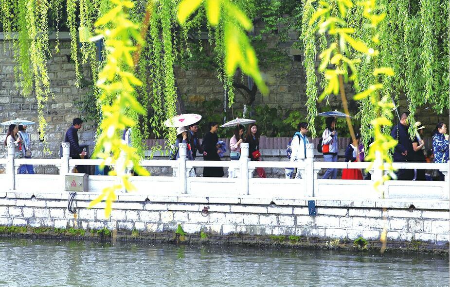 清明小长假济南旅游活动丰富多彩 17家景区营收同比增长67.9%