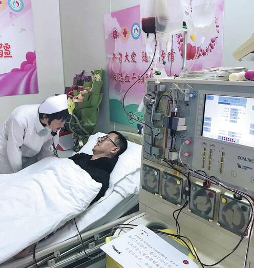 福建小伙在濟捐獻造血干細胞 家人毫不猶豫支持