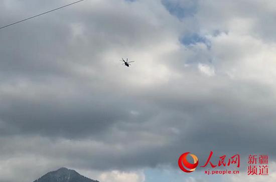 最新消息:雪崩被困全部获救 搭乘救援直升机返回