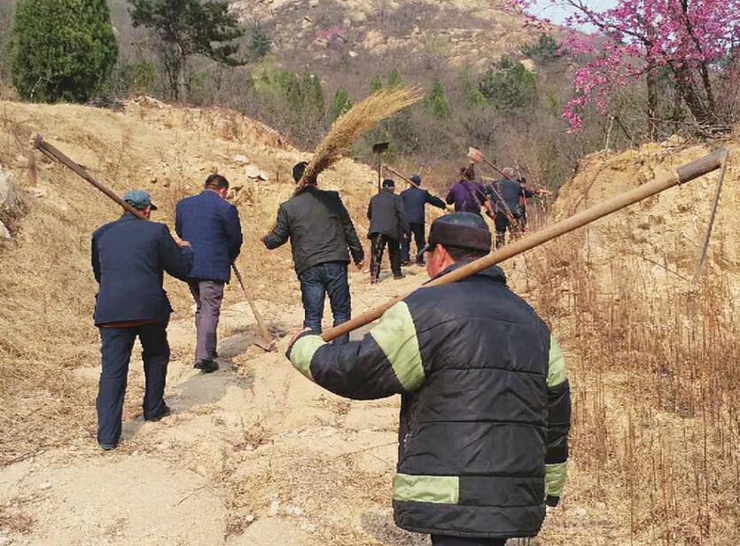 """莱芜区大王庄镇24小时巡逻防患于""""未燃"""""""