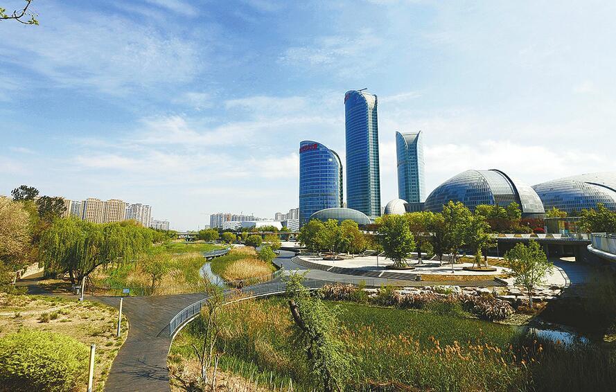 济南腊山河生态景观带颜值持续攀升