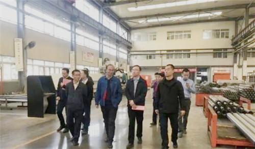 国家、省、市发展改革委来天桥区调研