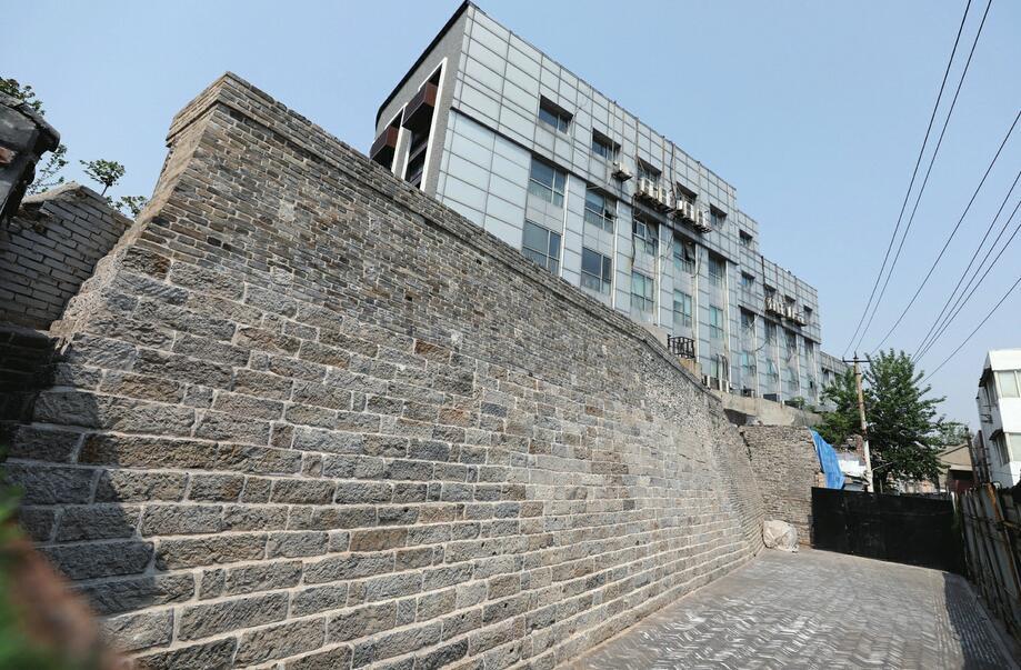 """济南600年""""古城墙""""修复完成 下月有望对外开放"""