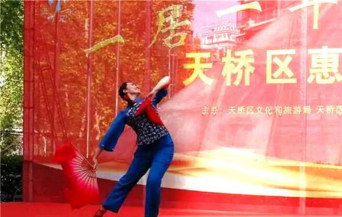 """天桥区文化和旅游局""""一村一居一年一场戏"""""""